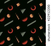 seamless geometric pattern....   Shutterstock .eps vector #422912200