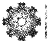 extraordinary mandalas.... | Shutterstock .eps vector #422913709