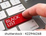 selective focus on the black... | Shutterstock . vector #422946268