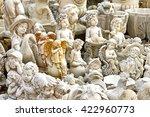 different white garden... | Shutterstock . vector #422960773