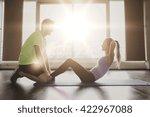 fitness  sport  training ... | Shutterstock . vector #422967088