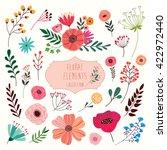 Floral Elements Set A Big...