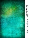 Grunge Abstract Turquoise...