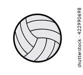 retro classic soccer ball | Shutterstock .eps vector #422990698