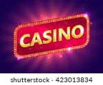 casino background. vector eps... | Shutterstock .eps vector #423013834