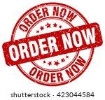 order now. stamp | Shutterstock .eps vector #423044584
