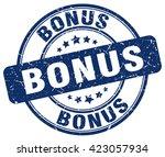 bonus. stamp | Shutterstock .eps vector #423057934