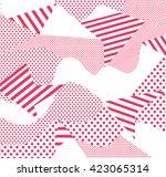 camouflage background pattern... | Shutterstock .eps vector #423065314