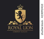 Royal Lion Logo. Lion Logo....