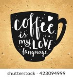 vector illustration. vintage... | Shutterstock .eps vector #423094999