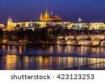 praha  czech republic  august... | Shutterstock . vector #423123253