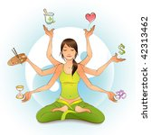 all in balance | Shutterstock .eps vector #42313462