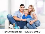 daughter. | Shutterstock . vector #423191959