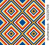 bright ethnic abstract... | Shutterstock .eps vector #423220708