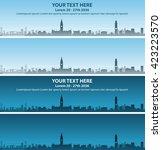 manchester event banner | Shutterstock .eps vector #423223570