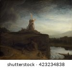 The Mill  By Rembrandt Van Rij...