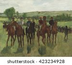 The Riders  By Edgar Degas ...