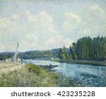 The Banks Of The Oise  By...