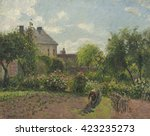 The Artist\'s Garden At Eragny ...
