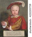 Edward Vi As A Child  By Hans...