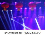 stage lighting effect in the... | Shutterstock . vector #423252190