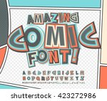 amazing colorful high detail... | Shutterstock .eps vector #423272986