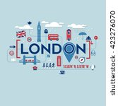 London Icons And Typography...