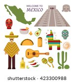 Vector Welcome To Mexico...