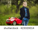 guy on the nature | Shutterstock . vector #423320014
