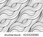 abstract vector seamless floral ... | Shutterstock .eps vector #423320080