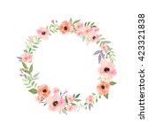 Vector Flowers Set. Beautiful...
