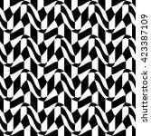 vector hipster abstract... | Shutterstock .eps vector #423387109