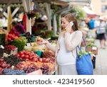 sale  shopping  food  pregnancy ... | Shutterstock . vector #423419560