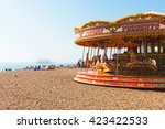 Carousel On Brighton\'s Beach