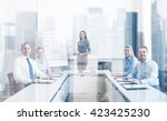 business  people and teamwork... | Shutterstock . vector #423425230