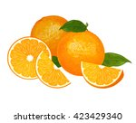 orange | Shutterstock .eps vector #423429340