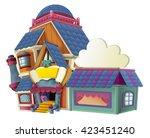 Cartoon House   Store  ...