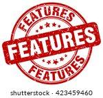 features. stamp | Shutterstock .eps vector #423459460