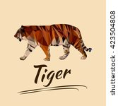 Lowpoly Tiger
