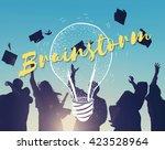 idea brainstorm creative... | Shutterstock . vector #423528964