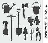 Gardening Tools   Vector...
