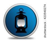 lantern icon | Shutterstock . vector #423540274