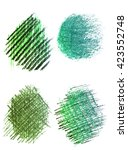 color pencil  stroke abstract... | Shutterstock . vector #423552748