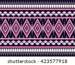 geometric ethnic oriental...   Shutterstock .eps vector #423577918
