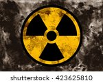 Symbol Of Radioactivity And...