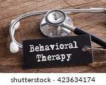 stethoscope on wood with...   Shutterstock . vector #423634174