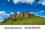 bamburgh castle  northumberland ... | Shutterstock . vector #423640039