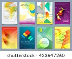 cover design   vector... | Shutterstock .eps vector #423647260