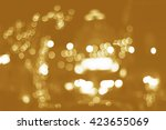 beautiful bokeh | Shutterstock . vector #423655069