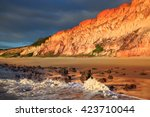 Beach And Cliff In Northeast...